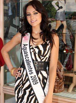 Nuestra Belleza Aguascalientes, Abigail González Márquez tiene 23 años.