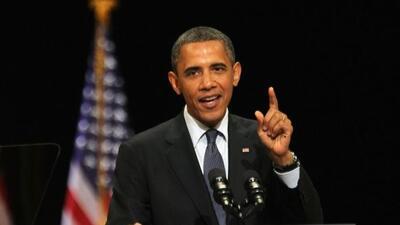 El presidente Barack Obama viajó a Miami para recaudar fondos para su ca...