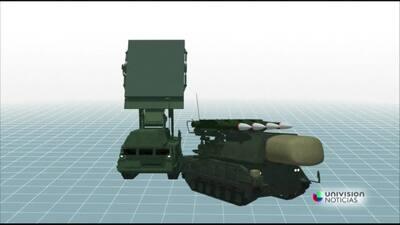 Animación: sistema de misiles que habría derribado al MH17