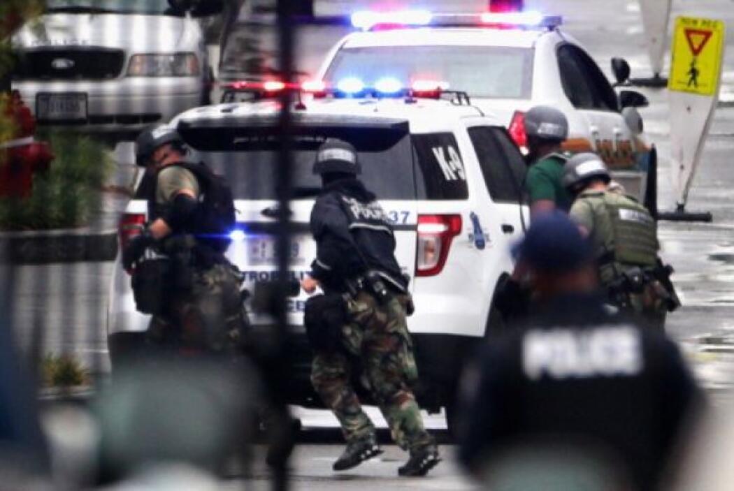 El tiroteo de registró a las 8:20 AM del lunes. Inmediatamente después e...
