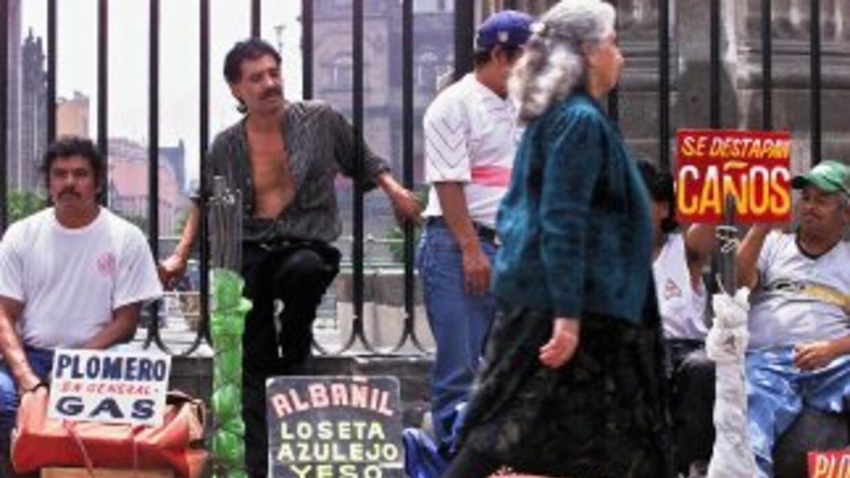 La tasa de desempleo en México durante diciembre llegó a 4.76 por ciento...