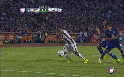 Monterrey vs Cruz Azul: Dorlan Pabón anotó el segundo para Monterrey