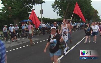 Protestas protagonizan el primer día de la Convención Demócrata