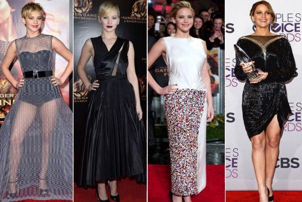 La belleza de Jennifer Lawrence algunas veces es opacada por ¿sus malas...