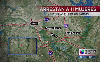 Mujeres de Dallas son arrestadas por conexión con venta de drogas