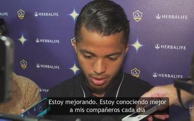 """Giovani dos Santos: """"Estoy mejorando, estoy trabajando duro cada día"""""""