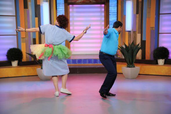 El cantante va con todo a Mira Quién Baila el próximo 15 de septiembre.
