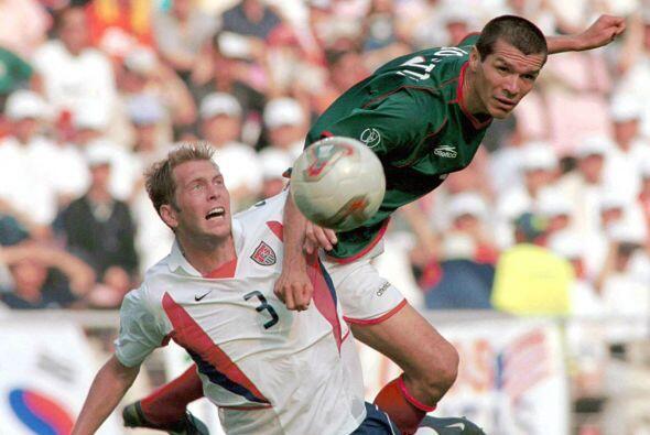 Borgetti tuvo toda la confianza del 'Vasco' y éste le respondió con gole...