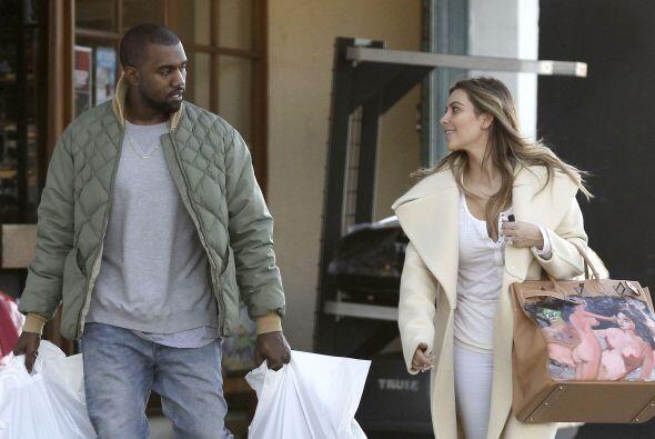 Sin embargo Kanye West supo cómo complacerla, y si bien no es el regalo...