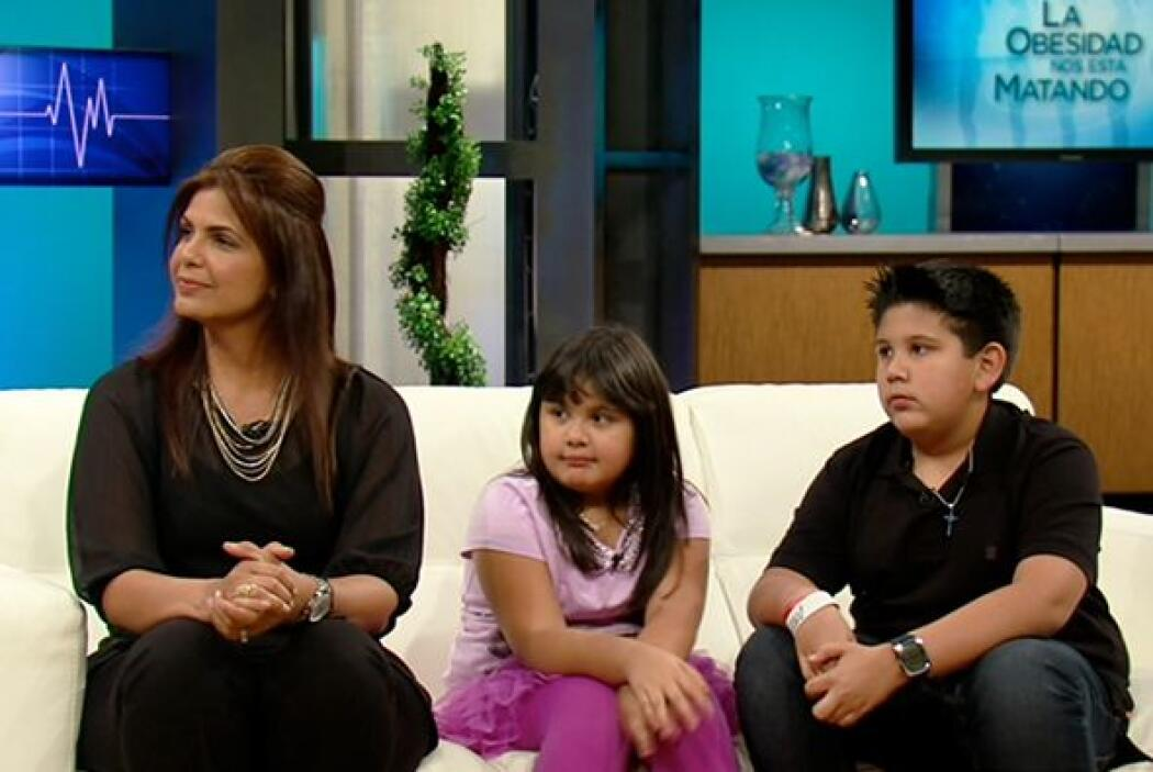 Valeria Morales, una madre que lucha contra la obesidad en su familia, a...