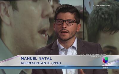 """Manuel Natal denuncia financiamiento """"buitre"""" en campaña de Ricardo Ross..."""