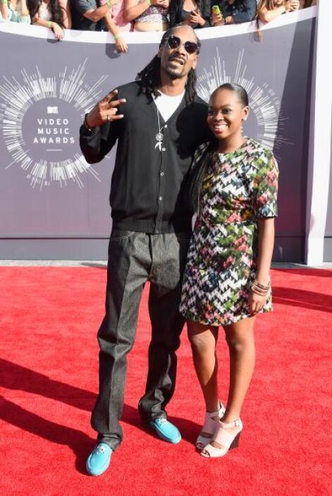 Con un look muy relajado, fueron como aparecieron Snoop Dogg y Cori Broa...