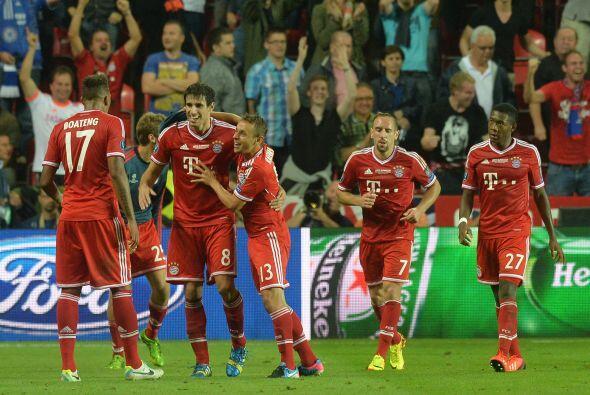 En la última jugada del partido Javi Martínez anotó el gol del empate y...