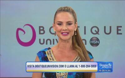 Ximena Cordoba siempre bella luciendo la moda de Boutique Univision