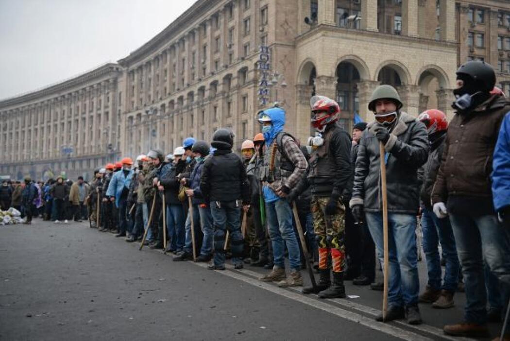 La oposición sospechó que Yanukovich había llegado a un acuerdo con Mosc...