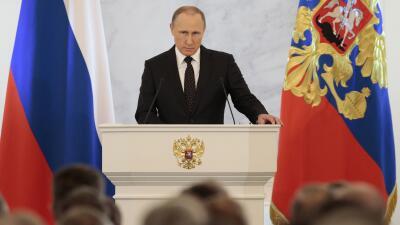 Vladimir Putin, discurso ante el parlamento ruso