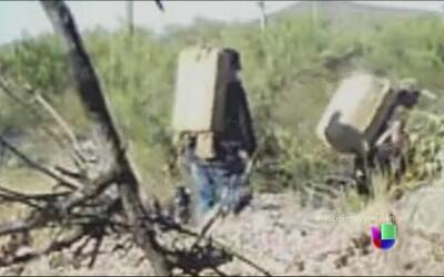 Cámaras ocultas revelan áreas de la frontera que son abiertas para el tr...