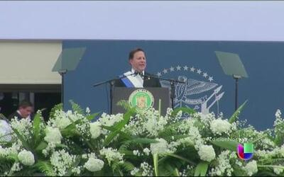 Juramenta nuevo presidente de Panamá