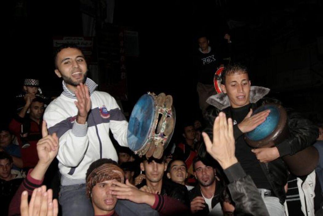 Tras una semana sangrienta, la mediación egipcia logró que las partes ac...