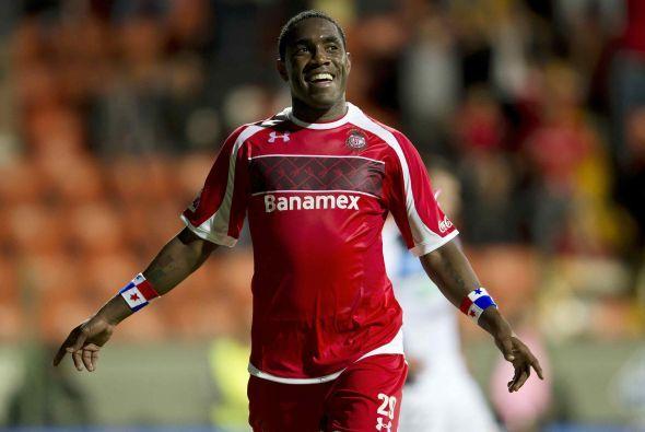 Veracruz anunció como primer fichaje al delantero panameño Luis Tejada q...