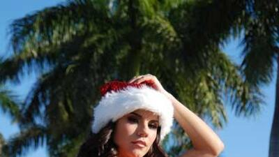 En esta visita a Miami, Miss República Deportiva aprovechó el buen clima...