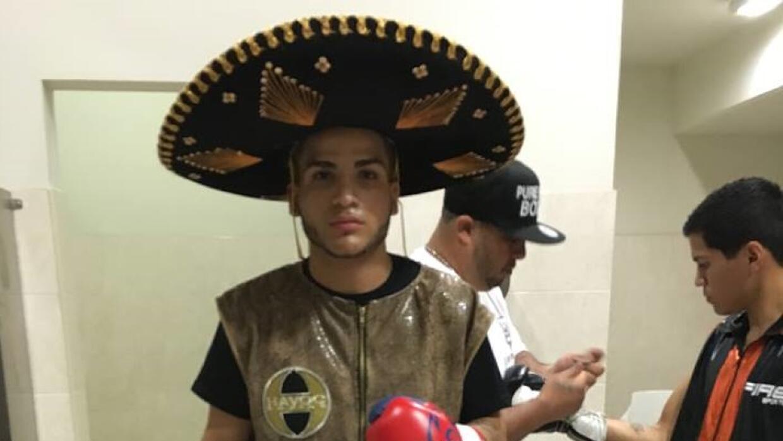 El joven de origen puertorriqueño Jossue Vargas debutó con...