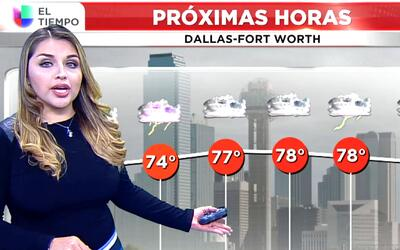 'Dallas en un Minuto': posibilidad de tormentas eléctricas se anuncian p...