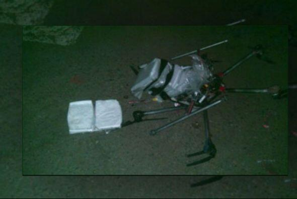 El sofisticado aparato volaba con una carga de 6.5 libras de metanfetami...