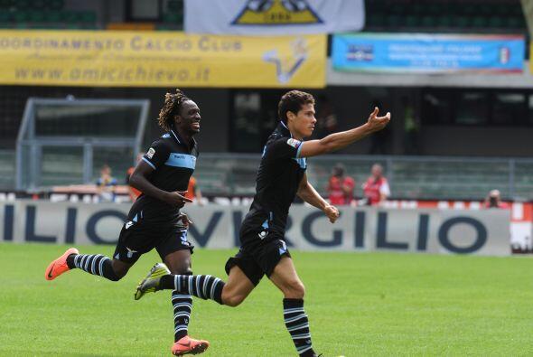 El bastión del equipo lazial se lució en la segunda fecha de la Serie A...