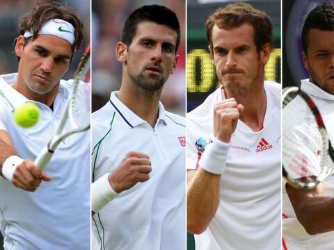Las semifinales varoniles están determinadas en Wimbledon: Federe...