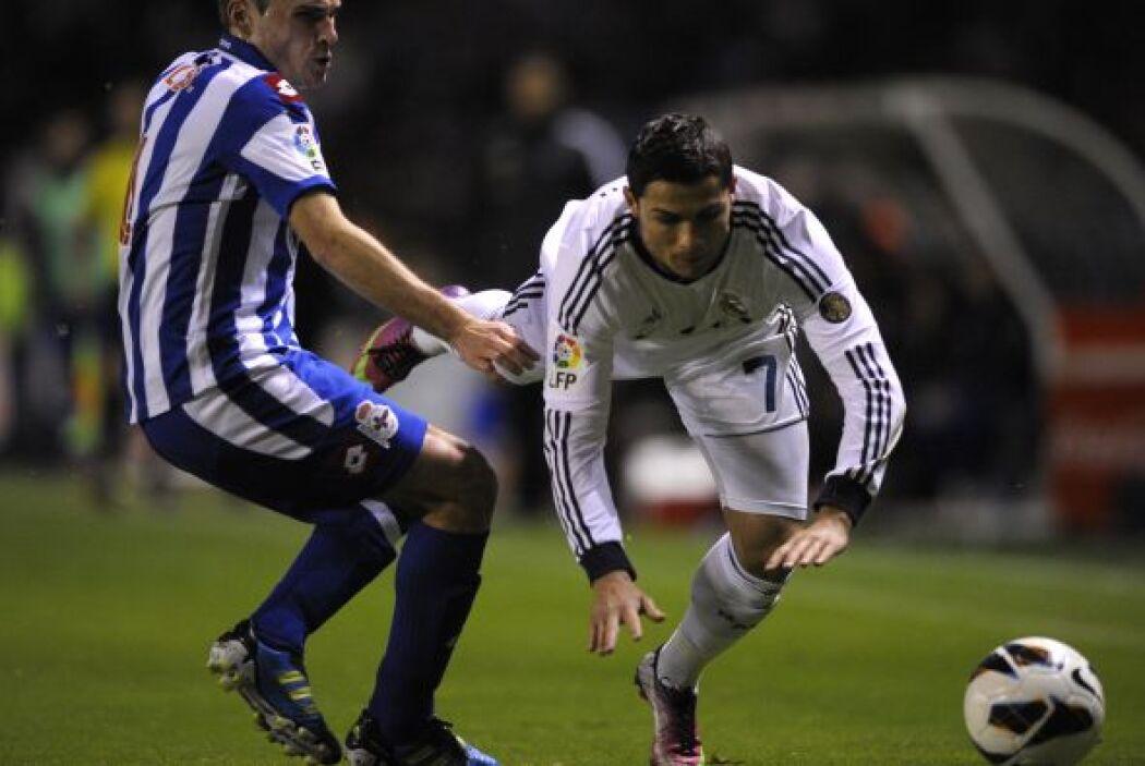 Cristiano Ronaldo le cambió el ritmo al Real Madrid, que comenzó a encer...