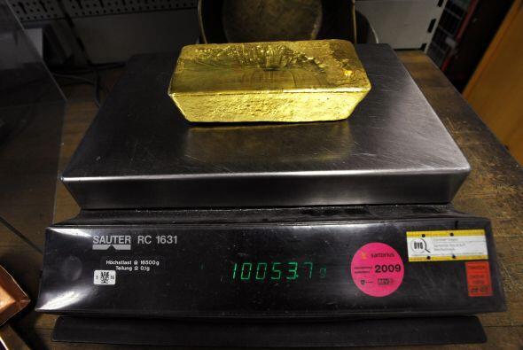 Se calcula que el oro de India podría tener un valor en mercado de $31.4...