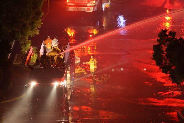 La secuencia de incendios que arrancó el martes por la mañana en las pro...