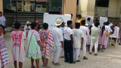 La comunidad de Cherán amenazó con no permitir la instalación de casilla...