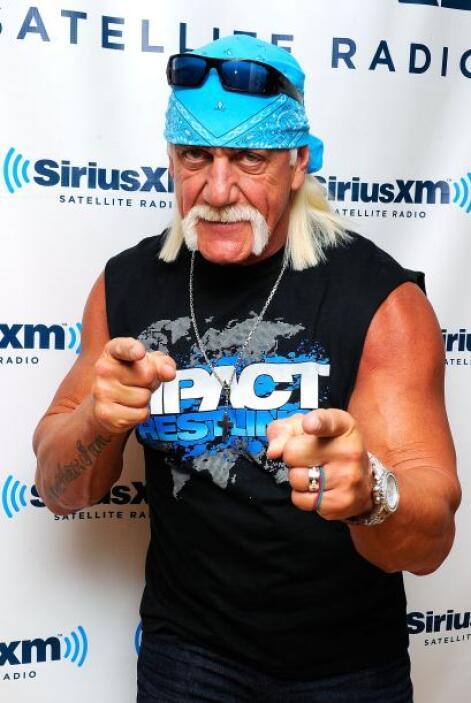 Otro escandalazo fue cuando el luchador Hulk Hogan se metió con Heather...