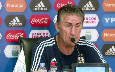 """Edgardo Bauza: """"El primer objetivo es clasificar al Mundial"""""""