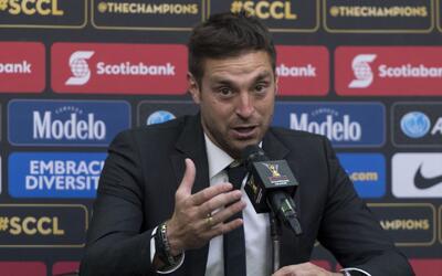 """Diego Alonso: """"Tenemos una pequeña ventaja, pero estamos en igualdad de..."""