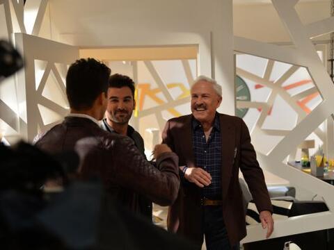 Las grabaciones de la nueva telenovela de Univision, en colaboraci&oacut...