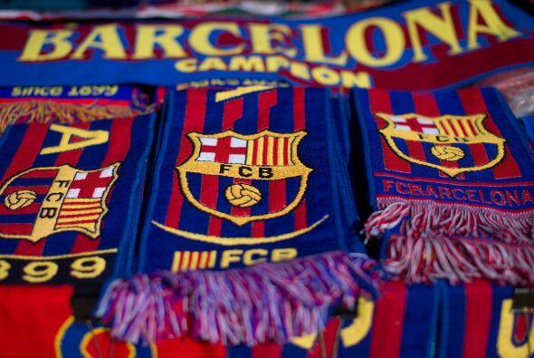 Acciones de la jornada 25 en España donde el Barcelona gole&oacut...