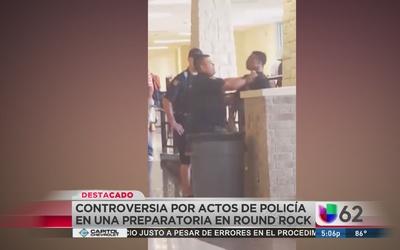 Oficial somete con violencia a estudiante