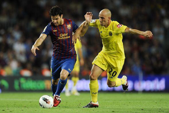 El cuadro 'blaugrana' recibió en el Camp Nou al Villarreal.
