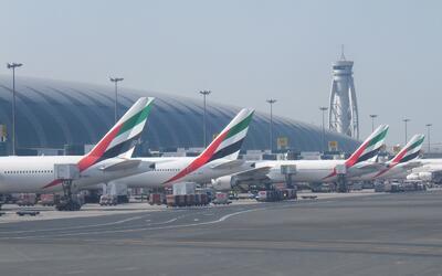 El de Dubái es uno de los aeropuertos más utilizados en el...