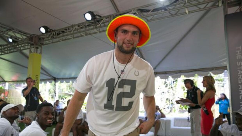 Andrew Luck fue el primer seleccionado del primer Draft para el Pro Bowl...
