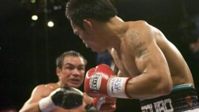 Juan Manuel Márquez y Manny Pacquiao, una imagen que será difícil de rep...