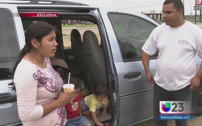 Familia hondureña vive en una camioneta