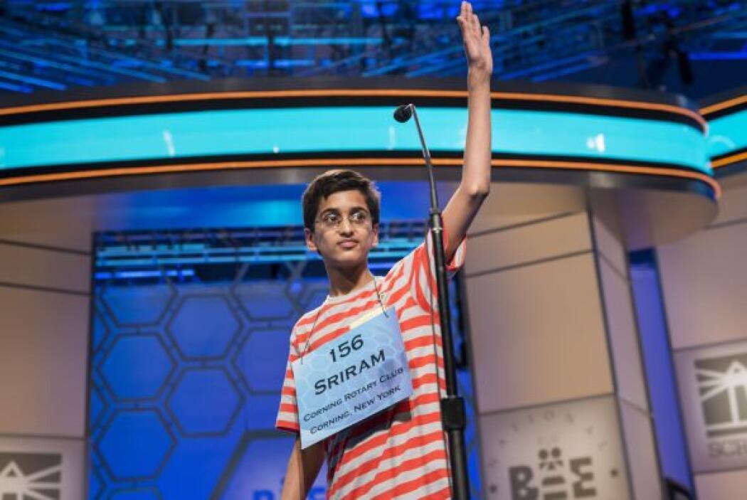 El tercer lugar fue para Sriram Hathwar, estudiante de séptimo grado de...