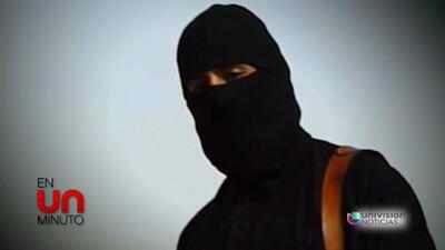 En Un Minuto: inicia cacería humana para atrapar al verdugo de James Foley