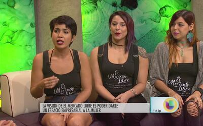 Mujeres emprendedoras se abren paso en el Mercado Libre
