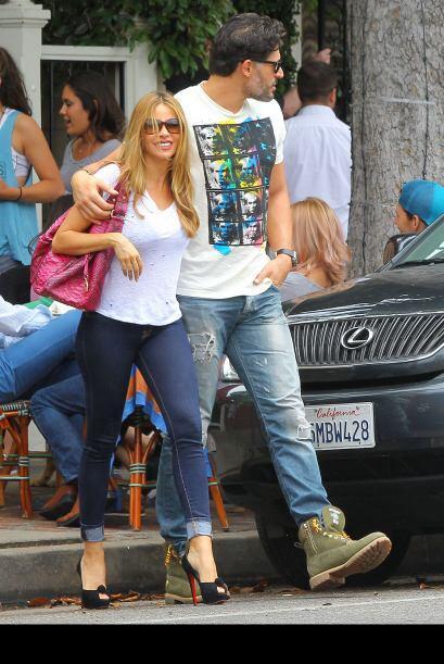 Después de dos o tres rumores de rompimiento con su ex Nick Loeb, Sofía...