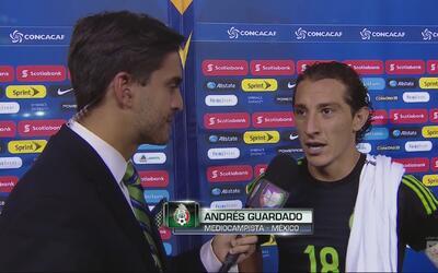 "Andrés Guardado: ""Era un triunfo que necesitaba México"""